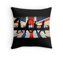 221B Abbey Road (Version One) Throw Pillow