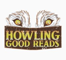 Howling good reads distressed version  Kids Clothes
