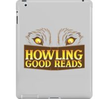 Howling good reads bookstore logo The Others reading series fan art iPad Case/Skin