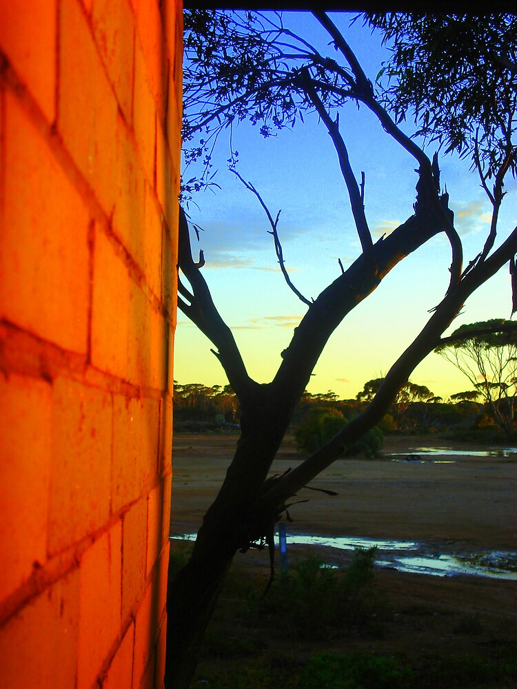 Sunset in Coolgardie, Western Australia by markor