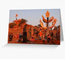 Outback festival Greeting Card