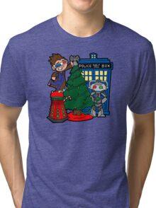 Tenth Christmas! Tri-blend T-Shirt