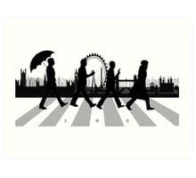 221B Abbey Road (Version Two) Art Print