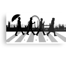 221B Abbey Road (Version Two) Metal Print