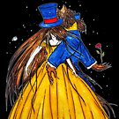 Who is the Mad Hatter ? Beauty and the Beast by studinano