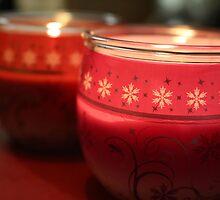 Festive Candlelight. by Selena Chaplin