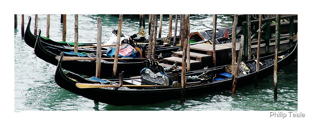 Gondolas 2 by Philip Teale