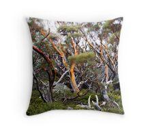 Snow Gums Throw Pillow