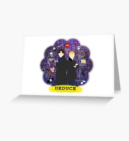 Deduce Greeting Card
