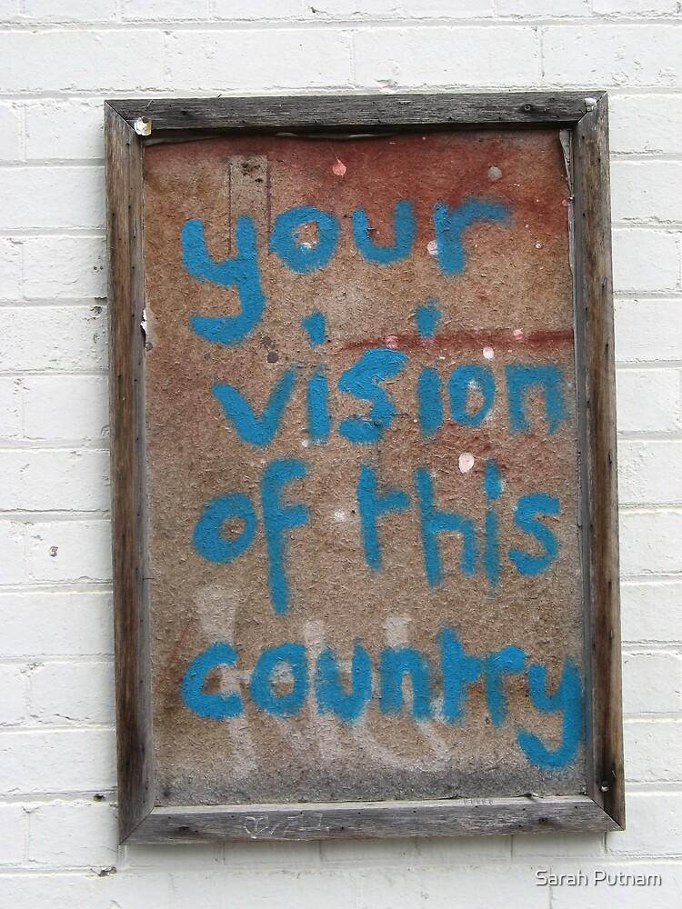 Vision by Sarah Putnam