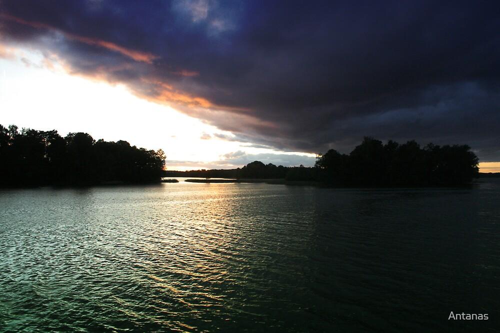 Lake by Antanas