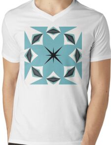 Cool Stardusted Breeze Mens V-Neck T-Shirt