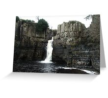 The River Tees, High Force, Upper Teesdale Greeting Card