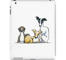 Italian Greyhound Trio iPad Case/Skin