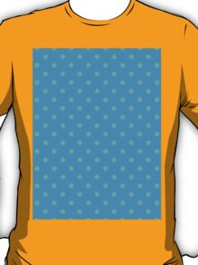 Polkadots Blue and Turquoise T-Shirt