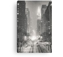 A Winter's Tale - New York City Canvas Print