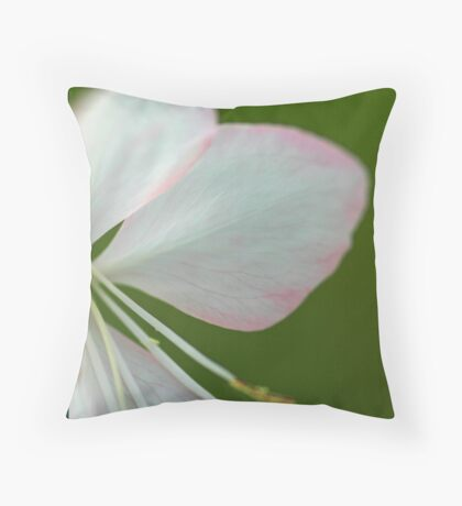 Tinged with pink Throw Pillow