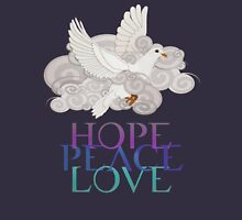 Christmas Dove of Hope, Peace and Love Pullover