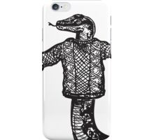 Slithery Sweater  iPhone Case/Skin