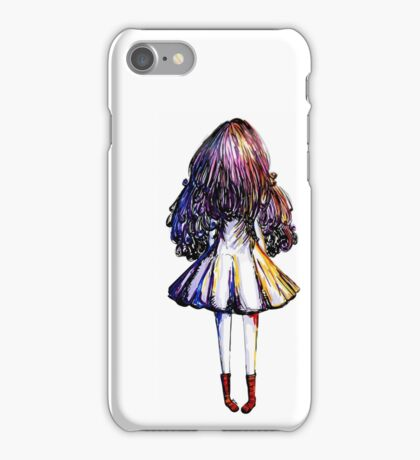 Girl and Red Doc iPhone Case/Skin