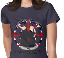Against The World Womens Fitted T-Shirt