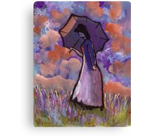 Summertime (from my original acrylic painting) Canvas Print