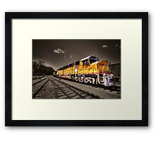 Union Pacific Centennial  Framed Print