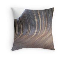 Wave Rock Throw Pillow