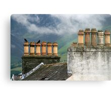 Chimneys Metal Print