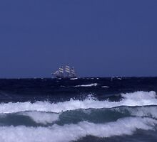 Sailing away by Fiona MacNab