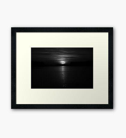 Come, follow me Framed Print