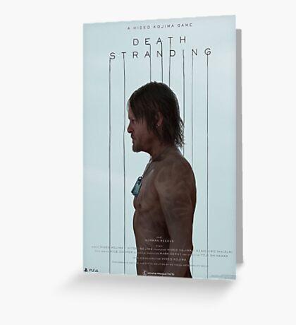 Death Stranding - Norman Reedus Greeting Card