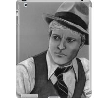 Robert Redford celebrity portrait 124 views iPad Case/Skin