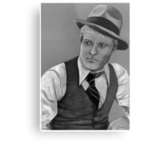 Robert Redford celebrity portrait 124 views Metal Print