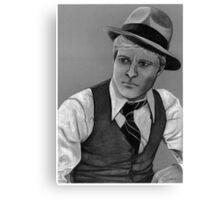 Robert Redford celebrity portrait 124 views Canvas Print