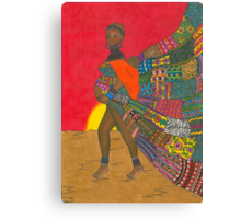 Masai - Mother & Child Canvas Print