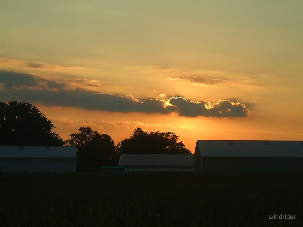 Local  Vincentown,New Jersey Sunset,Brilliant by windrider