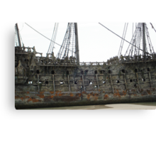 The Flying Dutchman close-up Canvas Print