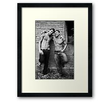 Just Friends? Framed Print