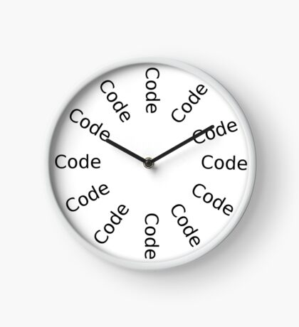 Time to code Clock