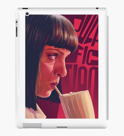 Mia Wallace Milkshake iPad Case/Skin