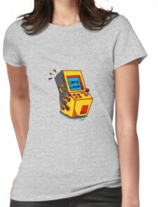 Vintage Arcade game Machine Womens Fitted T-Shirt