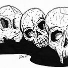 Trio of Death by Louis Myers