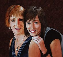 Mother and Daughter by Douglas Hunt
