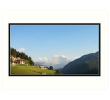 Dolomites Bliss Art Print