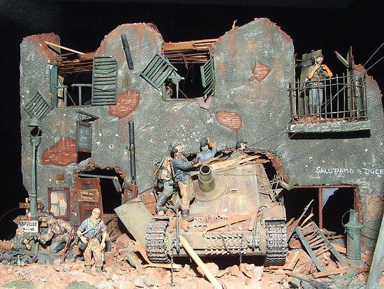 World War II Destruction by Mark Wilson