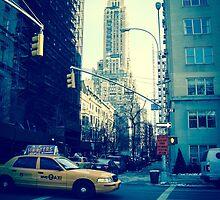 """I'm Walking Here."" by Mitch Waite"