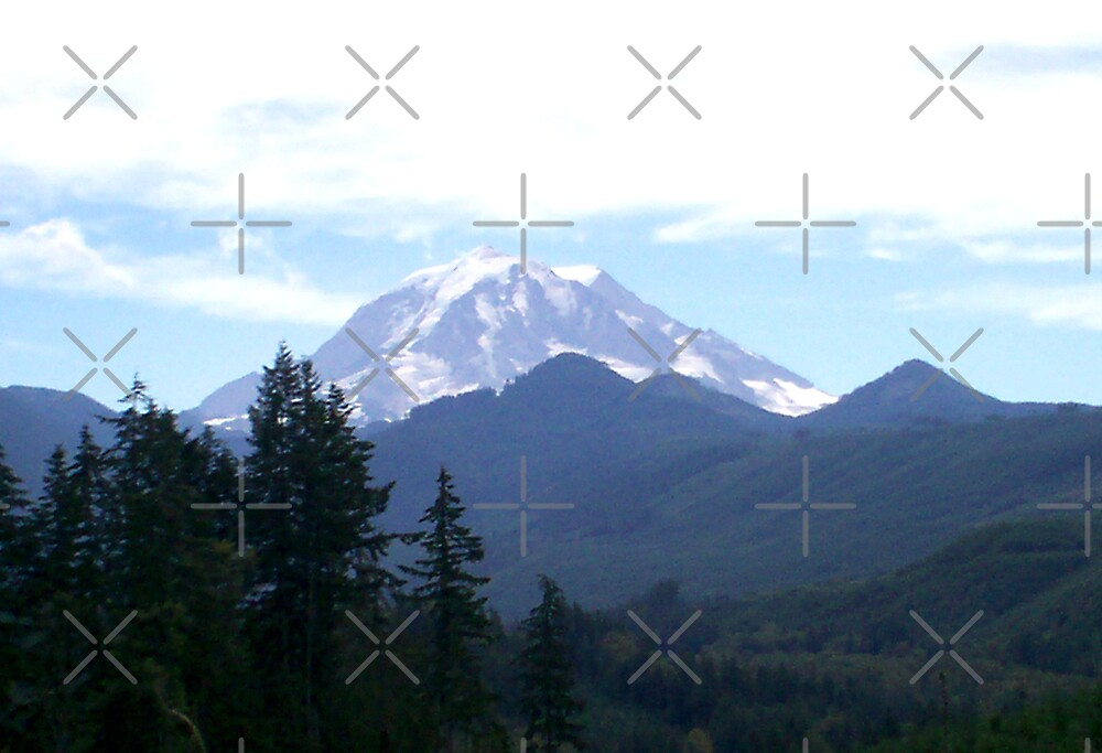 Mt Rainier by Marita