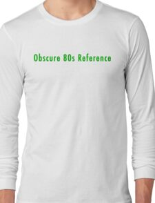 80s T-shirt Long Sleeve T-Shirt