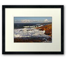South West Rocks Framed Print